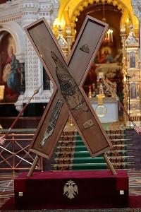 В Минск прибывает крест апостола Андрея Первозванного