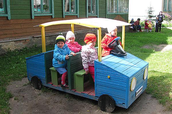 У детишек — новый автомобиль