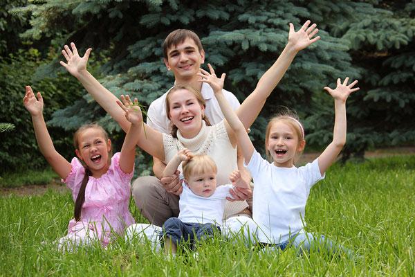 Количество семей растет