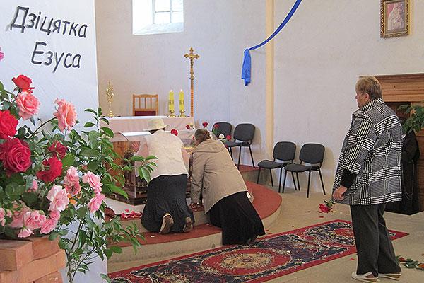 Мощи святой Терезы в Толочине (фоторепортаж)