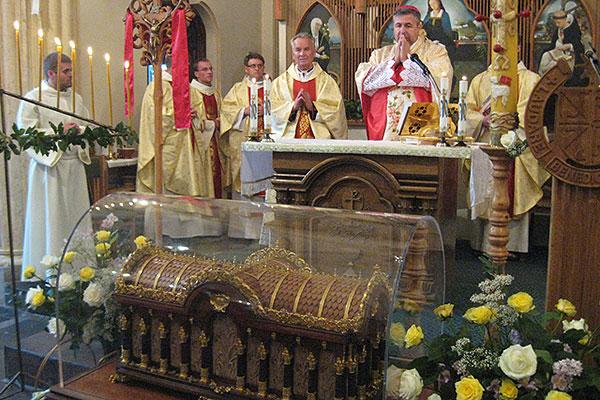 Мощи святой Терезы прибудут в Толочин