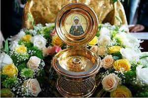 Мощи Матроны Московской прибыли в Толочин