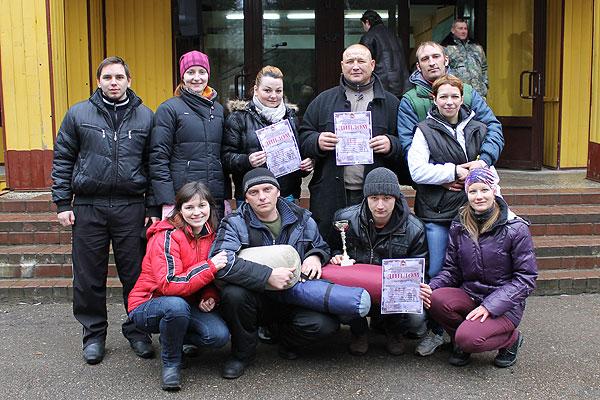 Третьи в области — зимние туристы Толочинщины (+фото)