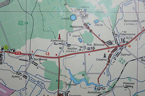 Карта района: Майдан, что в имени твоем