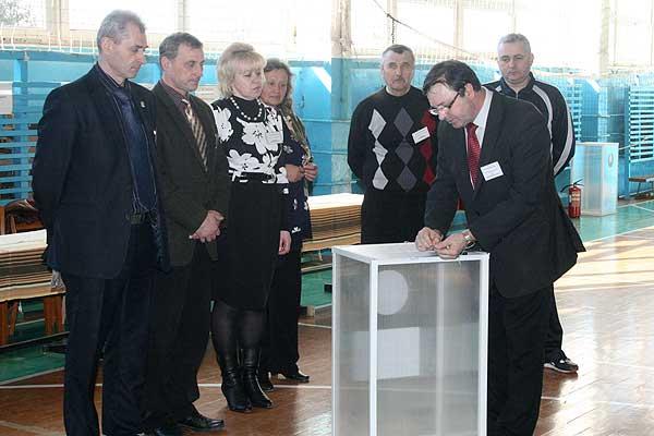 Выборы: тренинг для членов участковых комиссий состоялся в Толочине