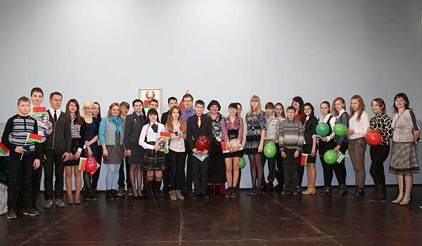 Торжественное вручение паспортов состоялось в Толочине