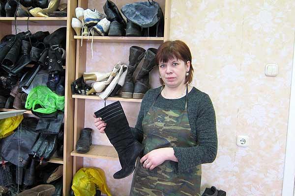 Татьяна Хамицкая: Для качественного ремонта отечественной обуви есть и материалы, и элементы