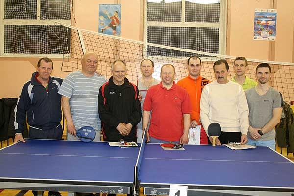 Завершилось районное первенство по настольному теннису