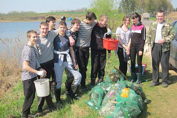 Акция «Чистый водоем»: не надо бороться за чистоту, надо убирать