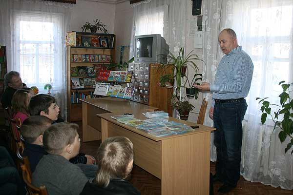 Интересная встреча: его книги пользуются большой популярностью