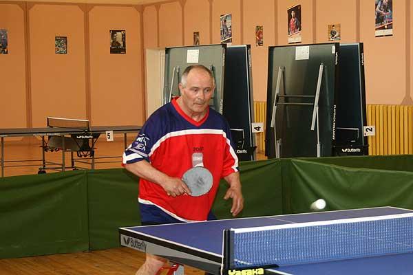 Свой юбилей Юлий Грегорович отметил за теннисным столом