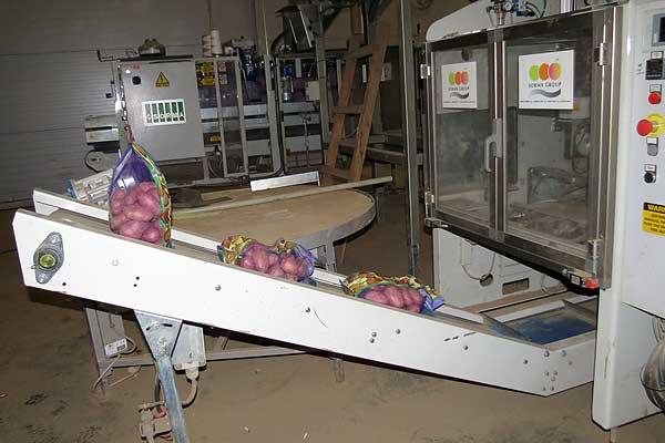 На консервном заводе установлена линия по мойке картофеля