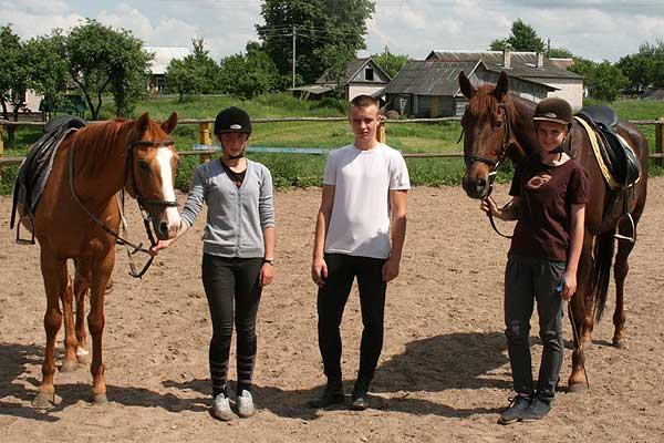 Толочинские конники — в числе призеров первенства области