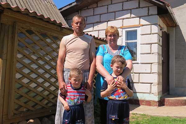 Семью Пашкевичей из Ламинщины крепят любовь и труд