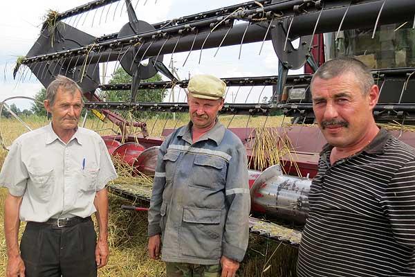 Урожай-2014: над трудностями берет верх желание