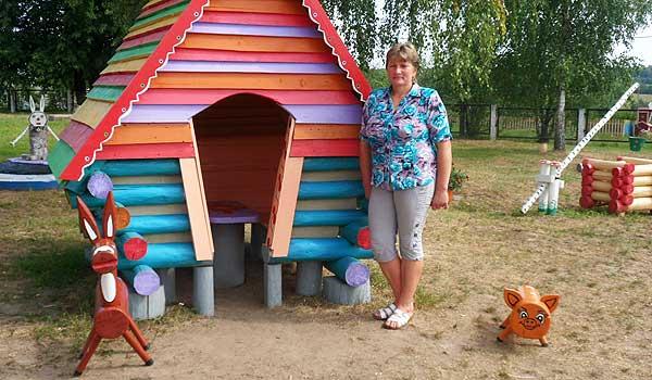Мастерица сказки: детсадовцам в Друцке некогда будет скучать