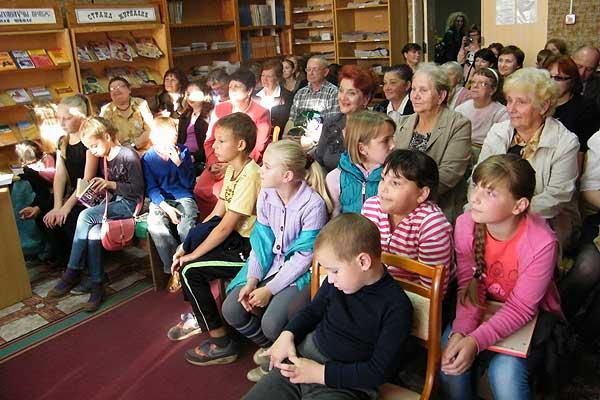 Кохановская библиотека отметила 95-летний юбилей
