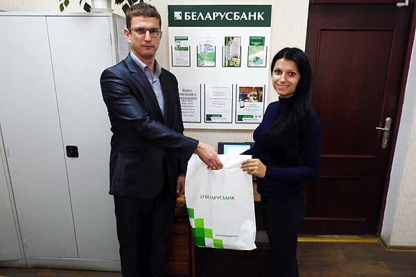 Беларусбанк в Толочине подключил к интернет-банкингу тысячного пользователя