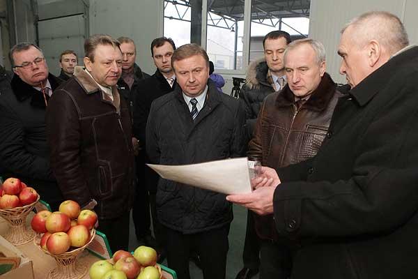 Толочинский район посетил Премьер-министр