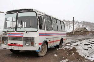 Изменяется расписание движения автобуса на Горщевщину