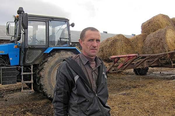 На руки Михаила Рубанова кладется самая ответственная работа в хозяйстве