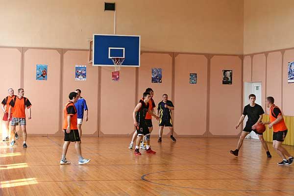 В Кубке района по баскетболу победили представители охраны