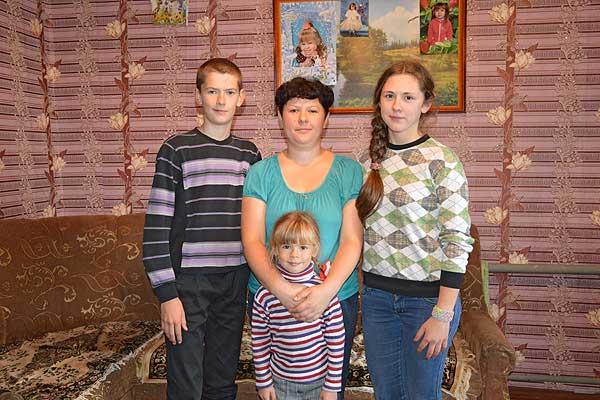 В семье Ольги и Сергея Шнырко на первом месте дети