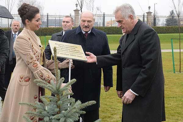 Тема недели: визит Президента Сербии в Беларусь