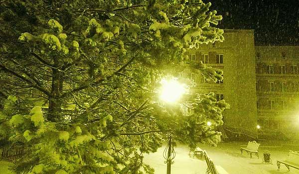 Утро с нами: первый танец зимы