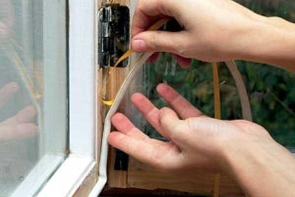 Утепление пластиковых окон своими рукам.