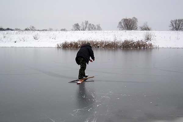 Первый лед: беспечность может оказаться фатальной