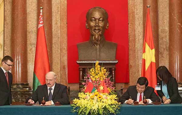 Тема недели: визит Президента Беларуси во Вьетнам