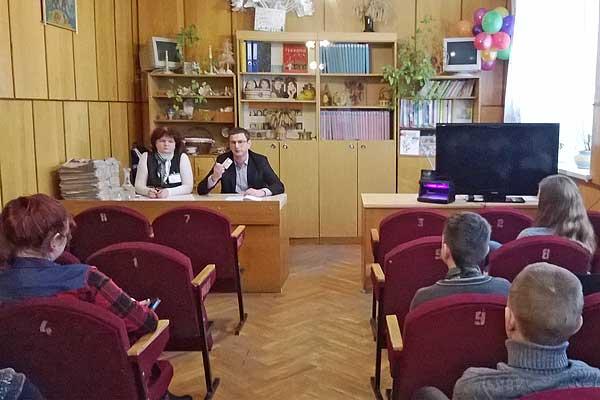 Детям о деньгах: сотрудники Беларусбанка провели урок финансовой грамотности для учащихся школ