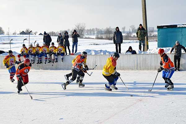 Хоккей: главный приз уехал в Лиозно