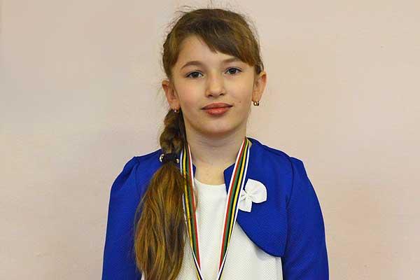 Талачынская гімназістка — у ліку лепшых юных лёгкаатлетаў краіны