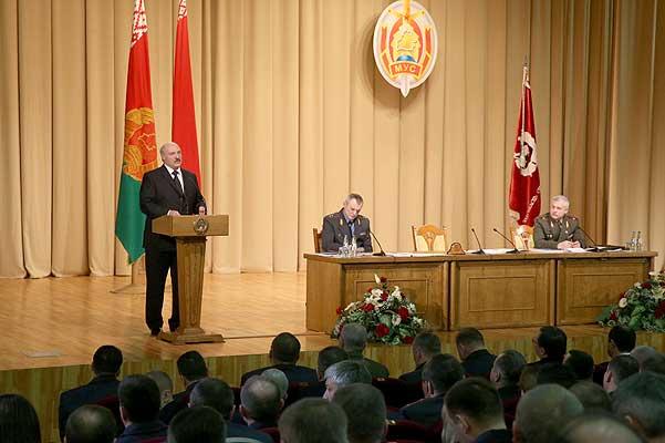 Тема недели: Лукашенко обозначил приоритеты в дальнейшей работе МВД