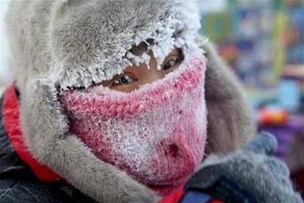 Берегите себя: в выходные ожидаются сильные морозы