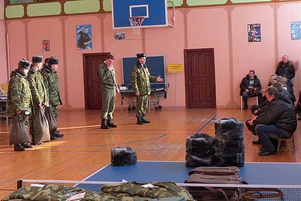 Мы и армия: в Толочине проведена мобилизационная тренировка