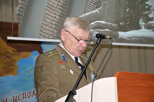 Отчет принят: итоги работы подвели воины-интернационалисты