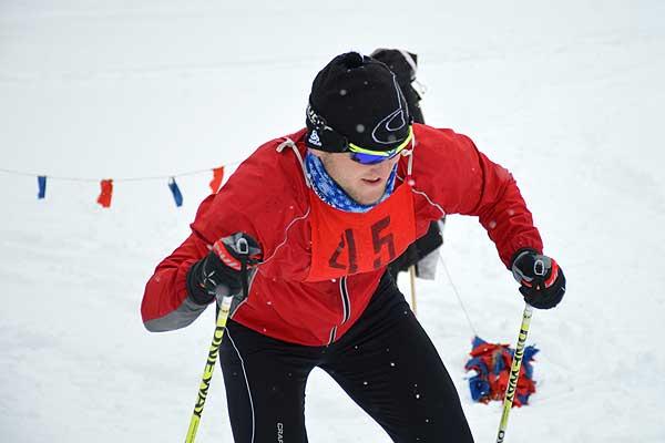 В Загородье соревновались лыжники (+фото)