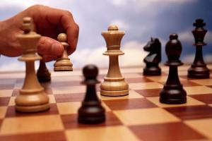 Шахматисты разыграли награды районного первенства