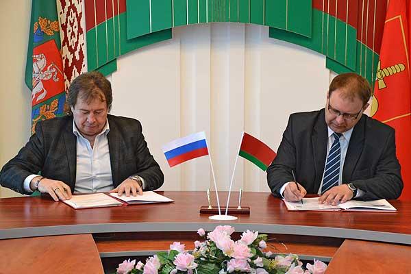 Грани партнерства: между Толочинским и Конаковским районами заключен договор о сотрудничестве