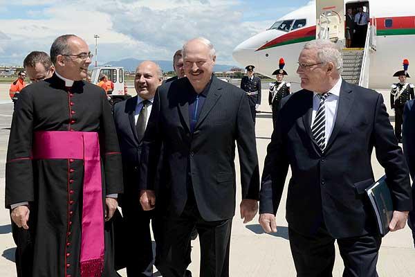 Тема недели: визит Президента Беларуси в Италию и Ватикан