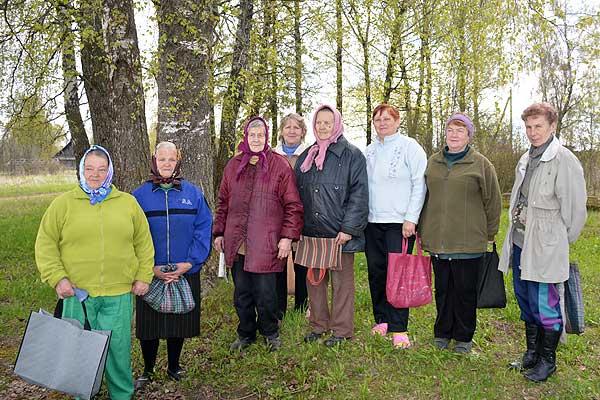 Жители Аленовичей свою землю хотят видеть красивой