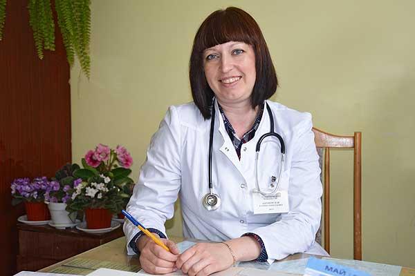 Врач Кохановской больницы Татьяна Барановская хорошо запомнила свое первое дежурство