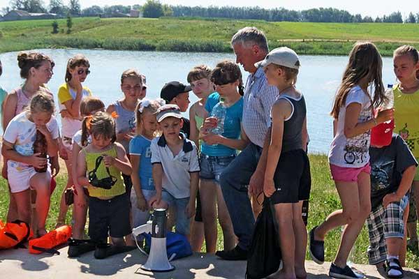 Урок полезный и необходимый: ОСВОД в Толочине напомнил детям о безопасном поведении у воды
