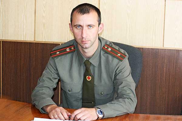 Военный комиссар Толочинского района Павел Хвостов: люблю спорт и много читаю