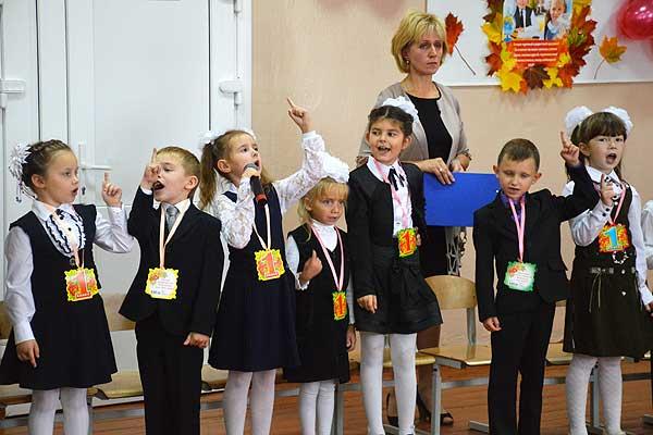 Первоклассники Толочинского района стали полноправными учениками