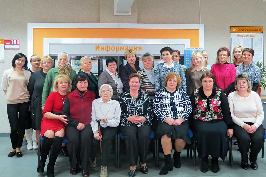 Добрая традиция: Белагропромбанк в Толочине поздравил своих ветеранов