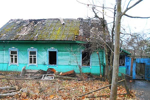 В Райцах в результате пожара поврежден жилой дом